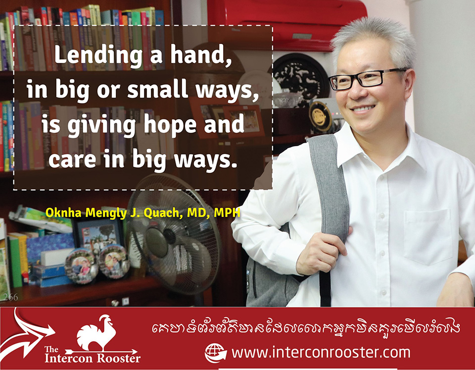 Lending A Hand, In Big Or Small Ways, Is Giving Hope And Care In Big Ways.